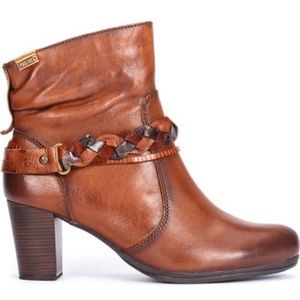 PIKOLINOS Verona Leather Ankle Bootie Size 39